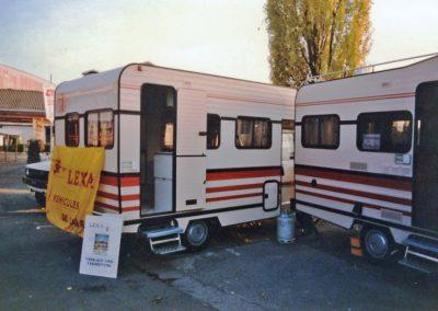 1985 erstmals am Suisse Caravan Salon in Bern