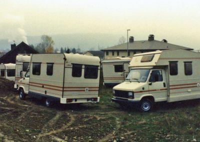 1985 erster Lagerplatz in Thörigen