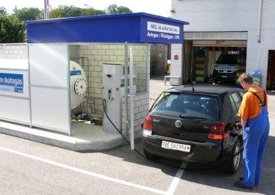 2007 die erste LPG Tankstelle im Oberaargau