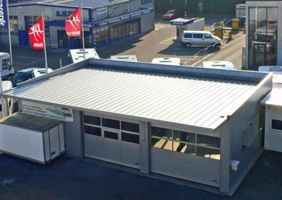 2008 unsere neue Service-Werkstatt