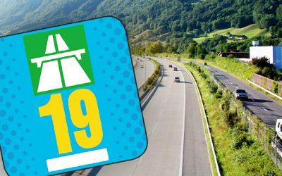 Vignette autoroute Suisse 2019